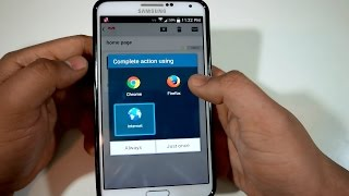 How To Clear Default Apps on Samsung Galaxy Note 3
