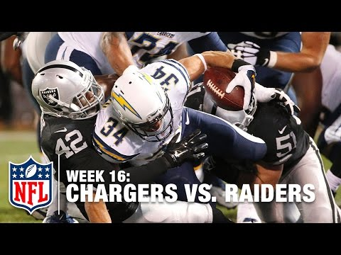Donald Brown Plows Ahead For 1-Yard TD! | Chargers vs. Raiders | NFL