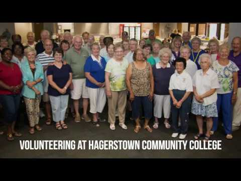 Volunteering at Hagerstown Community College