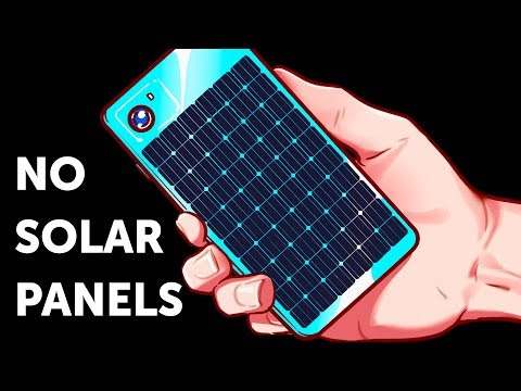 Why Phones Don't Have Solar Panels Yet