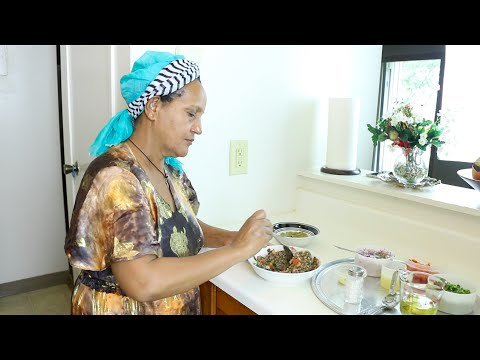 "Ethiopian Cuisine ""How to Make Azifa"" የአዚፋ ምግብ አሰራር"