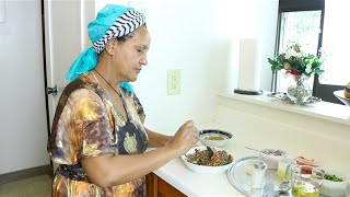 "Ethiopian Food/Cuisine ""How to Make Azifa"" የአዚፋ ምግብ አሰራር"