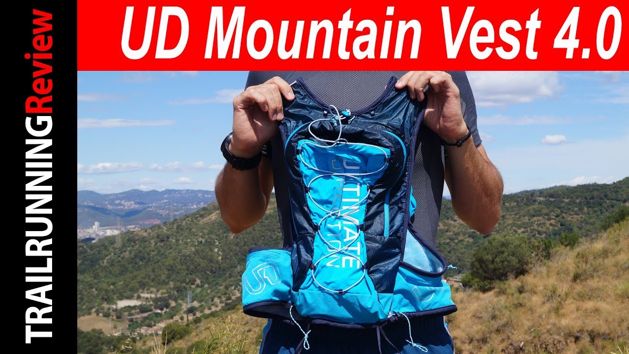 fb6d52cd24 Ultimate Direction Mountain Vest 4.0 Review - YouTube