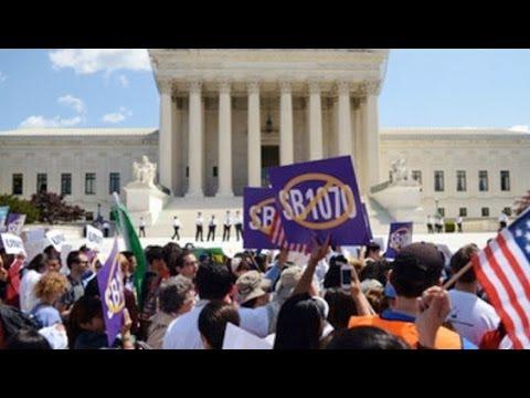 Arizona Gov. Declares Supreme Court Victory as Latino Community Vows to Resist