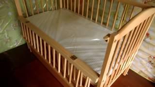 """""""Веселка-Люкс"""" - детская кроватка с ящиком для белья"""
