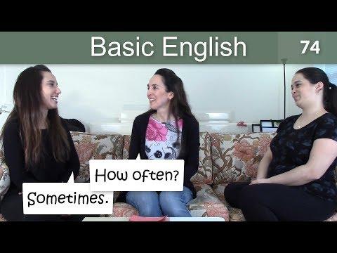 Lesson 74 ????? Basic English with Jennifer ???How often?