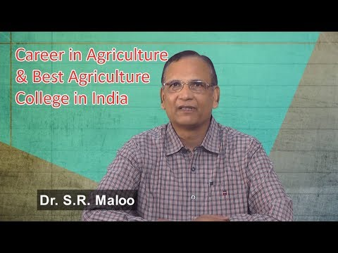Agriculture Career Option & Colleges in India | Pacific Agriculture College