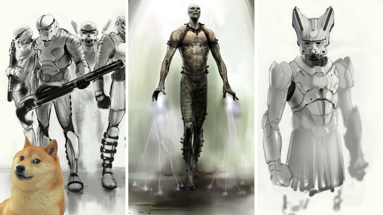 Republic Commando 2 Star Wars Dead Space Unreleased Star Wars Concept Art Leaked