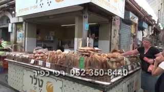 סיור בשוק מחנה יהודה בירושלים - רפי כפיר