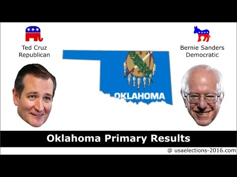 Oklahoma Primary Result 2016 : US Election 2016