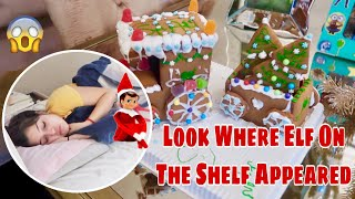 Elf On The Shelf Prank on Melody! Decorating Gingerbread Houses! Vlogmas Day 6 Watch all of our Vlogmas ...