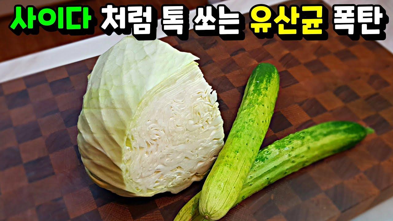 [올 여름은...이거다!] 우리집은 이렇게 만들어요. 누구보다 쉽고 간단하게! cabbage