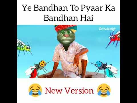 Ye Bandhan Toh Pyaar Ka Bandhan Hai||Talking Tom Version