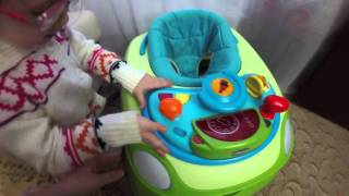 Vlog: Обзор ходунков chicco
