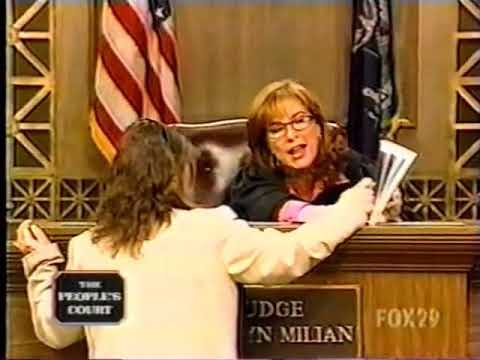 peoples court :  clinton defense