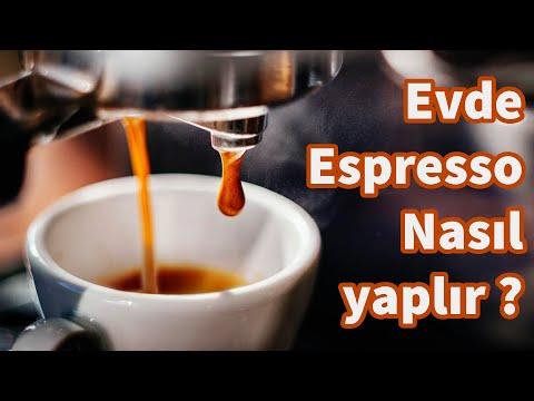 Espresso Nasıl Yapılır ?