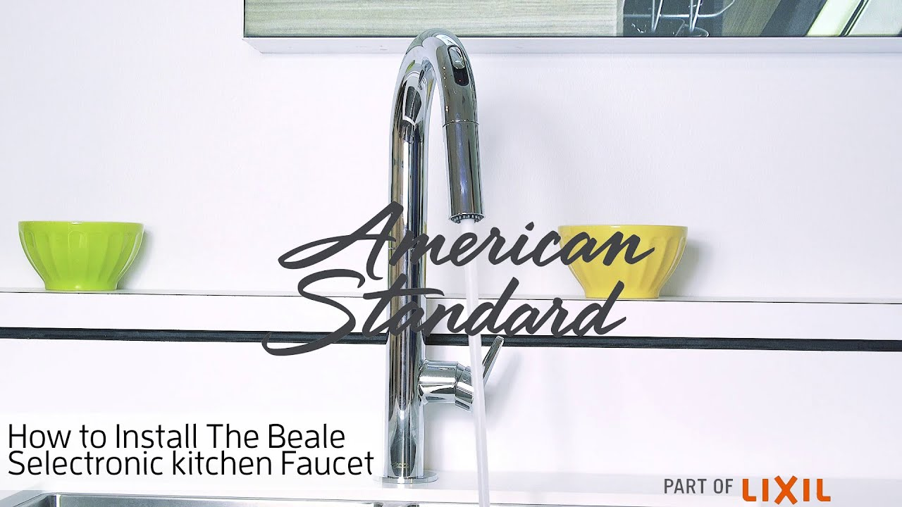 How to Install the Beale Kitchen Faucet from American Standard
