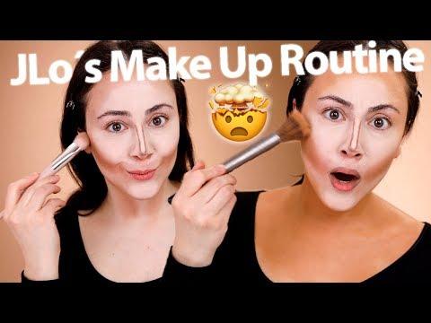 JLo Makeup Technik | Ich schminke Scott Barnes Makeup Look von Tati nach | Hatice Schmidt