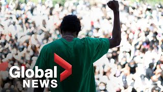 George Floyd protests: Demonstrators march for racial justice in New York City | FULL