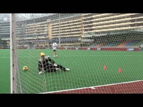 Goalkeeper Training  Matthew Harrison