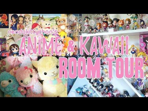 ♡ Kawaii/Anime Room Tour! ♡ + My Figure/Nendoroid Collection!