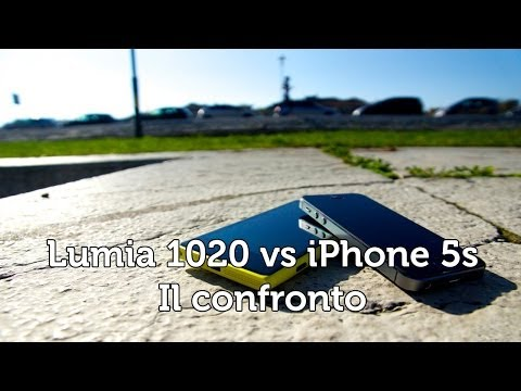 Nokia Lumia 1020 vs iPhone 5S • Ridble