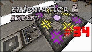 Minecraft 1.12.2 Enigmatica 2 Expert Mode Skyblock #34 - AE Autocrafting