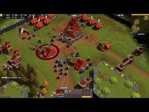 DWARFHEIM - Teaser Trailer & Gameplay Development - New RTS Game |