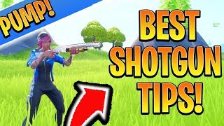 Fortnite PUMP SHOTGUN Tips! How to Aim Better with Shotguns in Fortnite! (Console Ps4/Xbox Fortnite)
