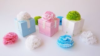 Scatoline Battesimo Bimbo/Bimba - Favor cube boxes (Collab. SsVersion DIY)(SCARICA IL MODELLO - DOWNLOAD TEMPLATE HERE: http://sweetbiodesign.blogspot.it/2015/02/tutorial-scatoline-battesimo-bimbobimba.html IL VIDEO DI ..., 2015-02-13T10:36:41.000Z)