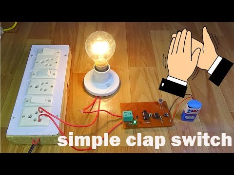 Simple Clap Control Home-automation.....#clapswitch
