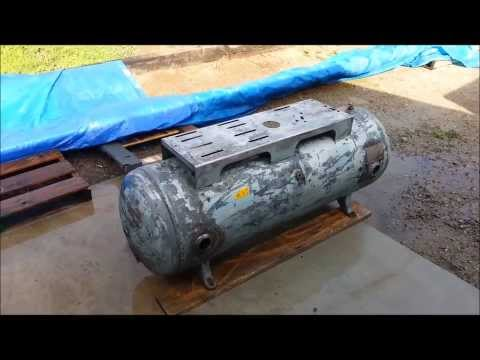 Air compressor #1 tank reconditioning