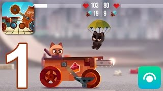 Video CATS: Crash Arena Turbo Stars - Gameplay Walkthrough Part 1 - Stages 1-2 (iOS, Android) download MP3, 3GP, MP4, WEBM, AVI, FLV Januari 2018
