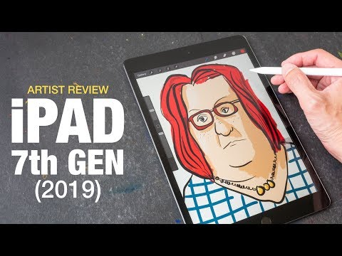 Artist Review: IPad 7 (2019) 10.2-inch