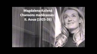 """Magdalena Kozena: The complete """"Chansons madécasses"""" (Ravel)"""