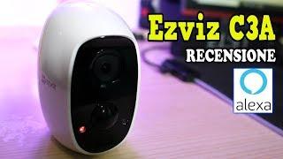 IP-камери кон BATTERIA на Алекса: огляд С3А Ezviz