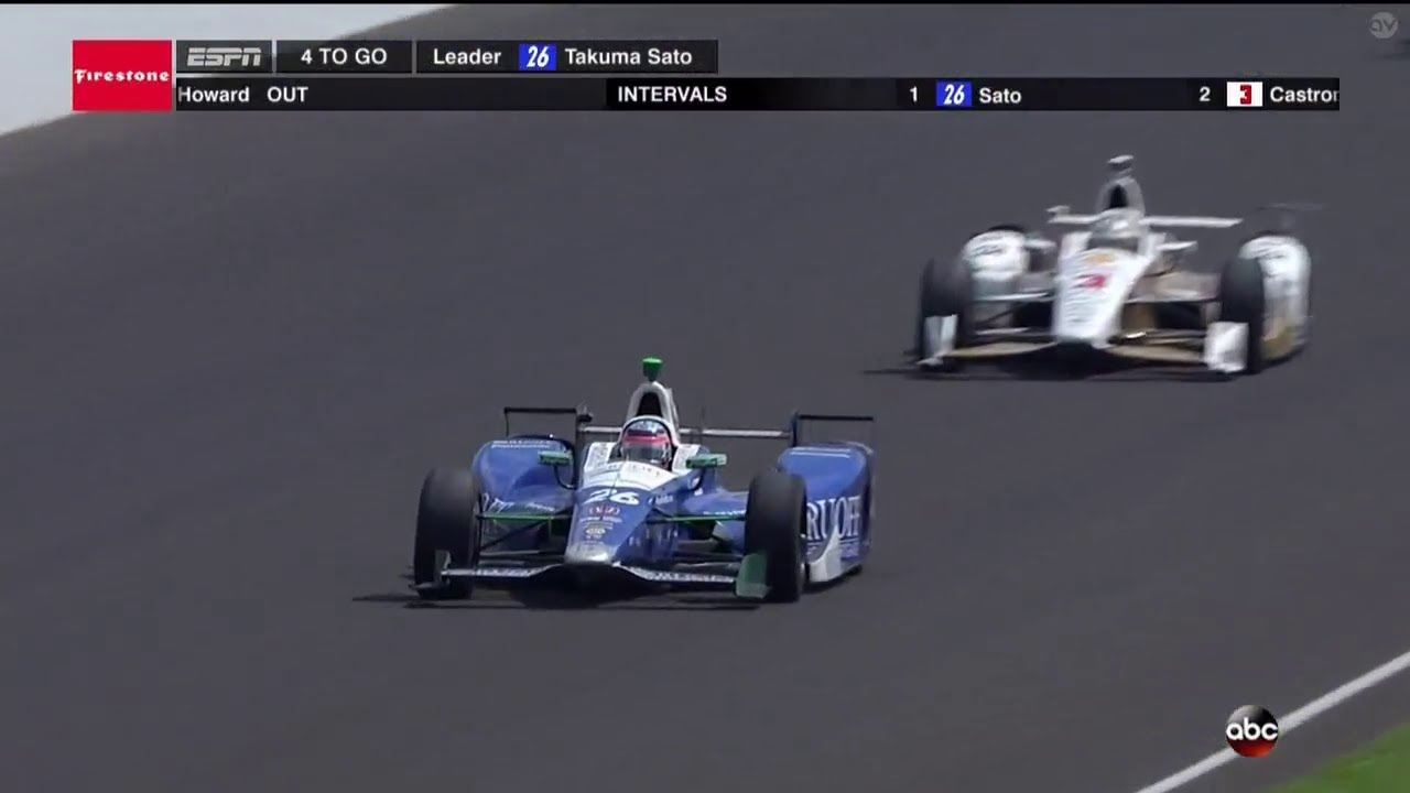 How Many Laps In Indy 500 >> 2017 Indianapolis 500 Last 5 Laps Interviews Youtube