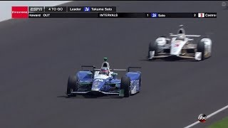 2017 Indianapolis 500 - Last 5 laps + Interviews