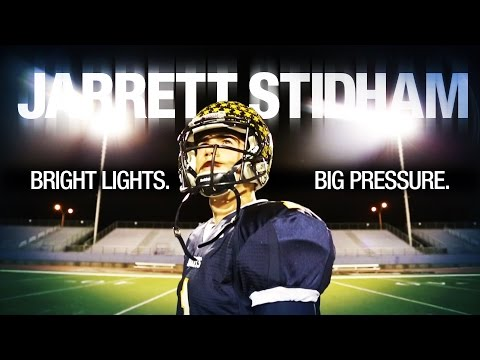 Meet Jarrett Stidham, the King of Friday Night Lights In Texas (B/R Studios)