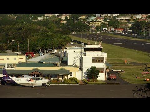 George F. L. Charles Airport (SLU) Castries 05.02.2015 Saint Lucia