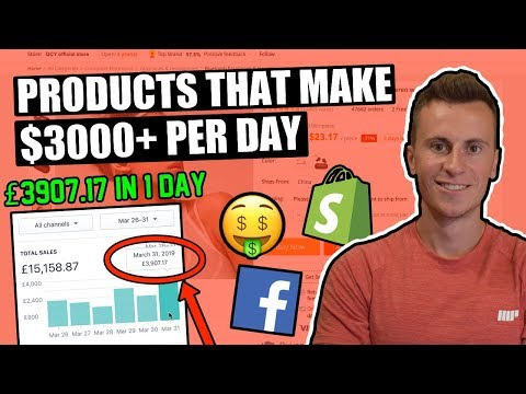 How I Found A $3000/day Winning Product For My Shopify Dropshipping Store (Shopify Product Research) thumbnail