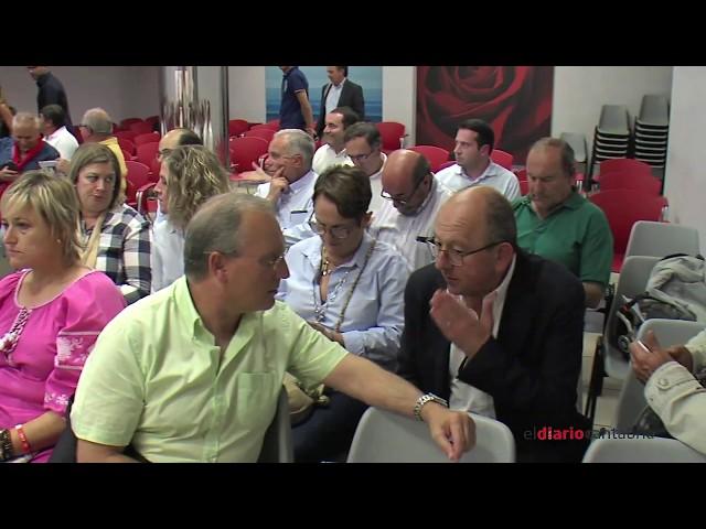 Reunión del PSOE de Cantabria con alcaldes y secretarios generales