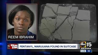 Phoenix woman busted flying to Nashville with 1 million fentanyl doses
