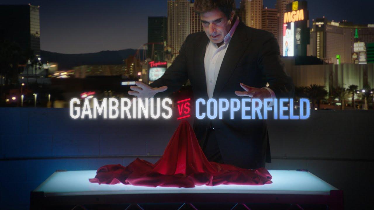Gambrinus Copperfielda Nakonec Obsadil Do Kampaně Mediaguru