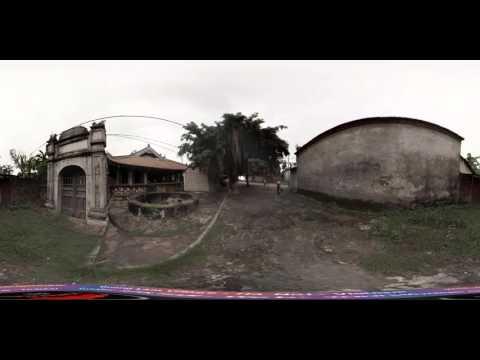 360° Video 4K  Mong Phu Communal House at Duong Lam Ancient Village   Đình Mông Phụ Đường Lâm 1