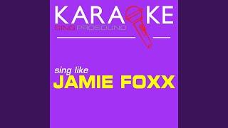 Wish U Were Here (In the Style of Jamie Foxx) (Karaoke Instrumental Version)