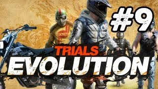 Trials Evolution: Walkthrough Part 9 HD (Xbox 360 Gameplay) Let