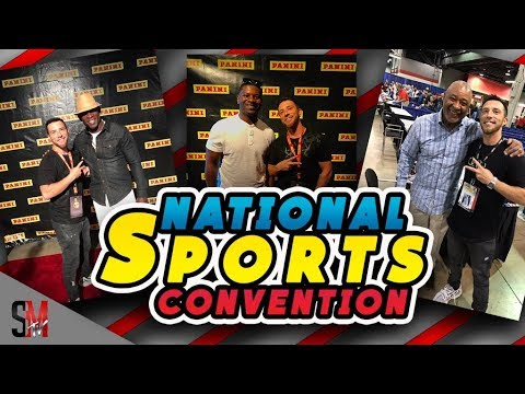 MEETING HALL OF FAMERS - NATIONAL SPORTS CONVENTION VLOG