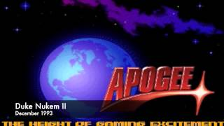 Apogee fanfare/intro screens from 1991-1995. If I missed a game tha...