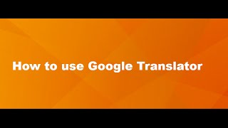 How to use Google Translator on Google Chrome?